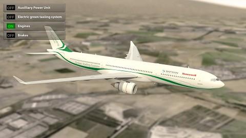Elektroantrieb für Passagierflugzeug