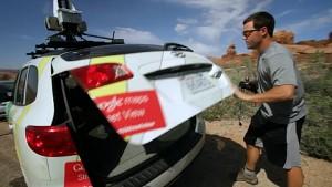 Google Trekker für Street-View-Aufnahmen