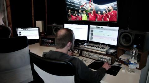 PES 2014 - Besuch im Tonstudio - (Reportage)
