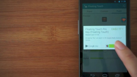 Floating Touch für Android - Trailer