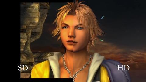 Final Fantasy 10 und 10-2 in HD und SD - Grafikvergleich