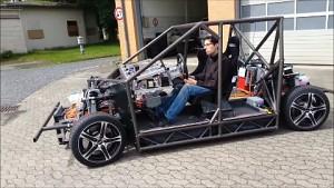 Erste Testfahrt mit Mobile - TU Braunschweig