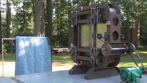Slingatron-Prototyp in Aktion