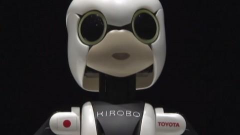 Sprechender Roboter Kirobo wird zur ISS geschickt