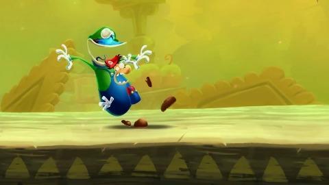 Mario und Luigi in Rayman Legends - Trailer