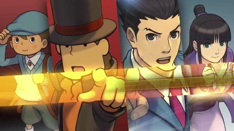 Professor Layton vs. Phoenix Wright - Nintendo Direct