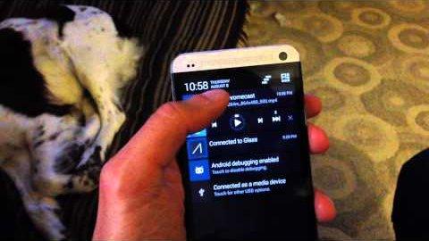 Chromecast-Erweiterung für Cyanogenmod - Demo