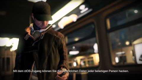 Watch Dogs - Gameplay von Ubisoft 1 (Hacking)
