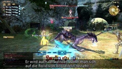 Final Fantasy 14 2.0 - Gameplay-Demo (Teamwork)