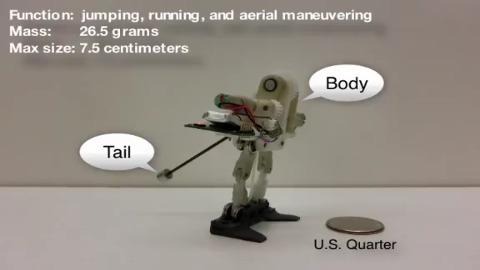 MSU Tailbot - laufender und springender Roboter