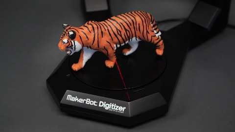 Desktop-3D-Scanner Digitizer - Makerbot