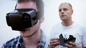 VR-Brille Dive - Interview (Gamescom 2013)