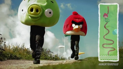 Angry Birds Go - Teaser (Kart-Rennspiel von Rovio)