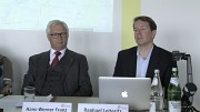 Zusammenarbeit von Google und VBB - Pressekonferenz