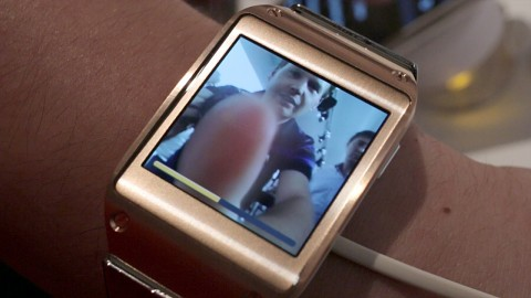 Samsung Galaxy Gear - Hands on (Ifa 2013)