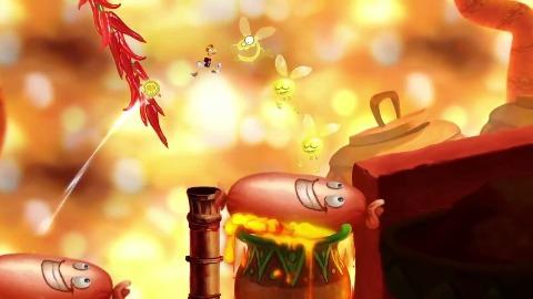 Rayman Fiesta Run für iOS - Trailer (Debut)