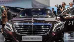 Mercedes S 500 Intelligent Drive - Interview (IAA 2013)