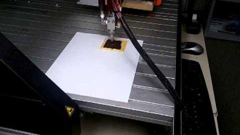 Prototyp eines Essensdruckers - SMRC