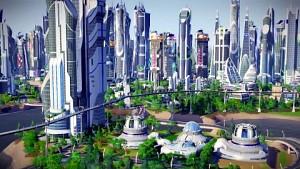 Sim City 5 - Trailer (Städte der Zukunft, Erweiterung)