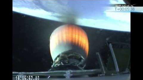 Start der Trägerrakete Falcon 9v1.1 - SpaceX