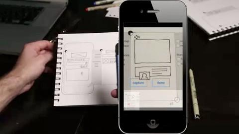 App wandelt Zeichnungen in Wireframing-Prototypen um