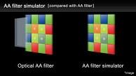Antialiasing-Filtersimulation bei der Pentax K-3