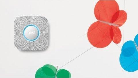 vernetzter rauchmelder nest protect video. Black Bedroom Furniture Sets. Home Design Ideas
