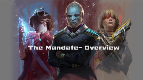 The Mandate - Kickstarter