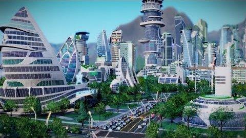 Sim City 5 - Designer stellt Städte der Zukunft vor