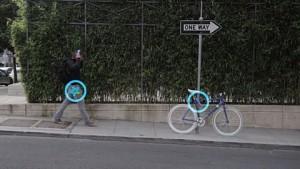 Elektronisches Fahrradschloss Bitlock