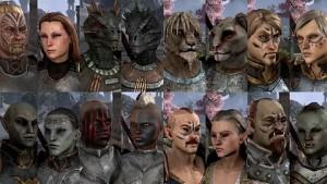 The Elder Scrolls Online - Charakter-Editor vorgestellt