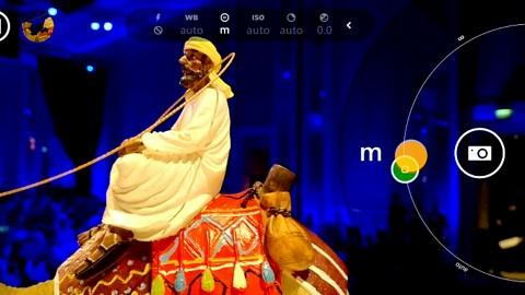 Nokia Lumia 1520 - Zoomen u. Fokussieren mit der Kamera