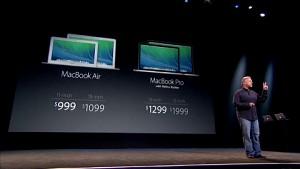 Macbook Pro - Apple-Keynote (Herbst 2013)