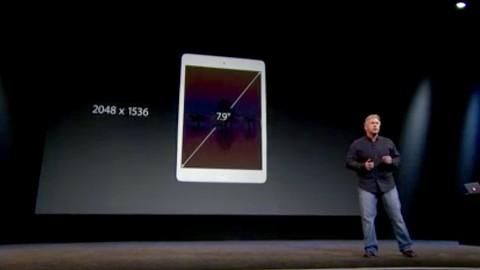 iPad Mini mit Retina-Display - Apple-Keynote (Herbst 2013)