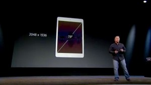iPad Mini mit Retina-Display - Apple-Keynote (Herbst 2013)