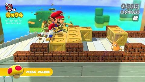 Super Mario 3D World - Trailer (Wii U, Gameplay)
