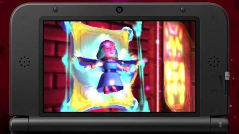 The Legend of Zelda A Link Between Worlds - Gameplay
