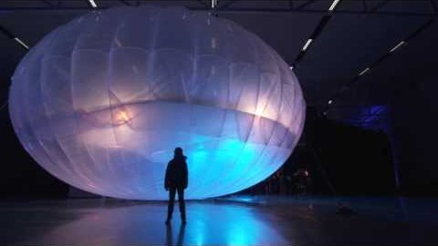 Pam Desrochers über die Ballonhüllen - Google Loon