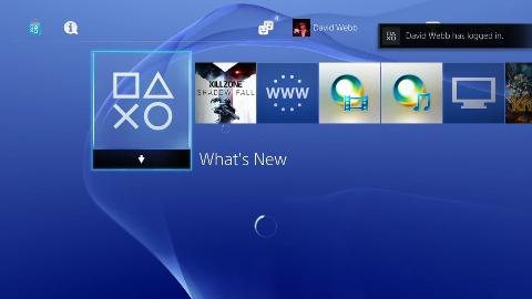 Sony stellt das Dashboard der Playstation 4 vor