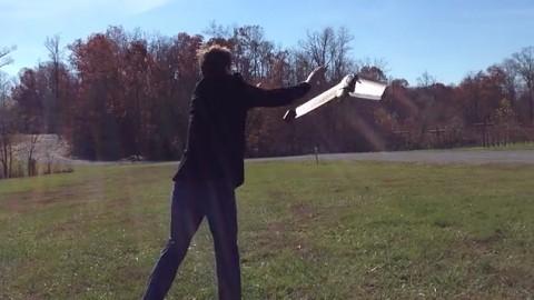 Drohne E-Bee in Aktion - Mapbox