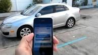 Schlüsselloses Entsperren von Autos per App