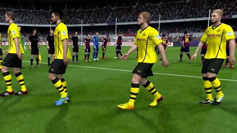 Fifa 14 auf Xbox One - Gameplay (Barcelona vs. BVB)