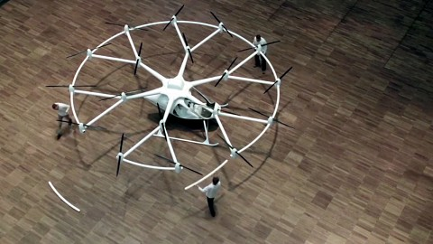 Volocopter VC-200 - Trailer