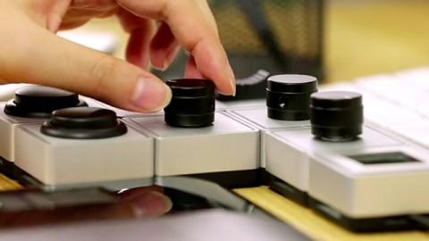 Palette als Ergänzung zur Tastatur