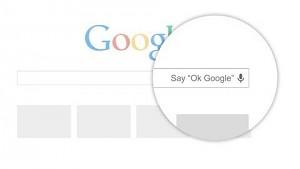 Berührungslose Spracherkennung in Chrome