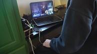 Hinternbasierter Spiele-Controller von Ben Krasnow