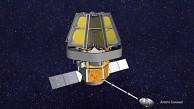 Satellit mit Membranenteleskop - Darpa