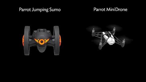 Mini Drone und Jumping Sumo - Parrot