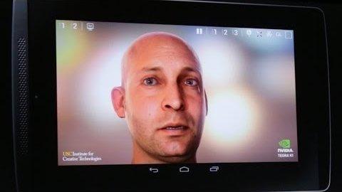 Nvidia zeigt Grafikdemo Ira auf dem Tegra K1 (CES 2014)