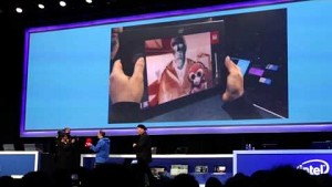 Intel zeigt 3D-Tiefenkamera Real Sense (CES 2014)